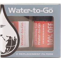 Water-To-Go Replacement Filters x 2, Assorted