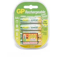 Gp Batteries Smart Energy Rechargeable AA 4 Pack, Assorted
