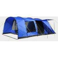 Eurohike Hampton 6 Man Family Tent, Blue