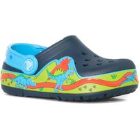 Crocs Kids Crocslights Dinosaur Clog, Navy