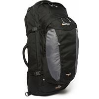 Vango Voyager 60+20 Travel Rucksack, Black