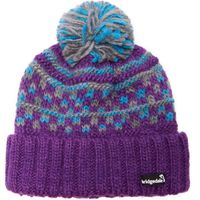 Bridgedale Womens Pom Beanie, Purple