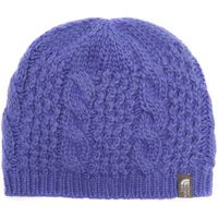 The North Face Womens Cable Minna Beanie, Purple