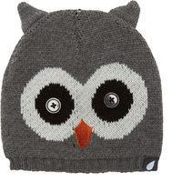 Peter Storm Girls Owl Beanie, Grey