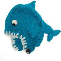 Animal Bate Shark Beanie, Blue