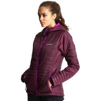 Columbia Womens Go To Hooded Jacket, Purple