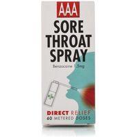 Aaa Sore Throat Spray