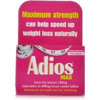 Adios Max Herbal Slimming Tablets