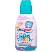 Aquafresh Big Teeth Mouthwash Original Fruity Flavour