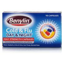 Benylin Cold & Flu Day & Night Max Strength Capsules