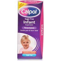 Calpol Sugar Free Infant Suspension Liquid 2+ Months