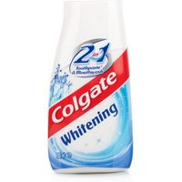Colgate 2 in 1 Whitening Toothpaste & Mouthwash 12 Pack
