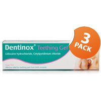 Dentinox Teething Gel Triple Pack