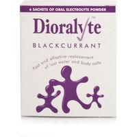 Dioralyte Sachets Blackcurrant 6's