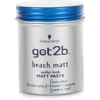 Schwarzkopf Got2b Beach Matt Surfer Look Matt Paste