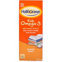Haliborange Orange Omega-3 Syrup