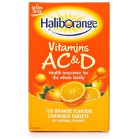 Seven Seas Haliborange Vitamins A C & D Orange Flavour