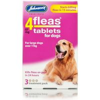 Johnsons 4fleas Dog Tablets