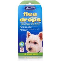 Johnsons Flea & Tick Drops 12 Weeks For Small Dogs