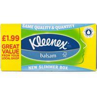Kleenex Balsam Tissues 12 Pack