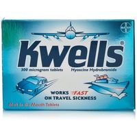 Kwells Travel Sickness Tablets 300mcg