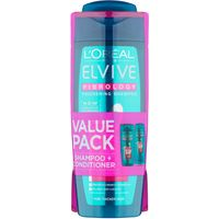 L'Oreal Elvive Fibrology Shampoo & Conditioner Duo Pack
