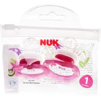 NUK Happy Days Silicone Soother for Girls Size 1