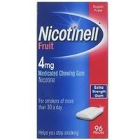 Nicotinell Fruit Gum 4mg