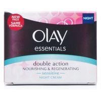 Olay Double Action Nourishing & Regenerating Night Cream for Sensitive Skin