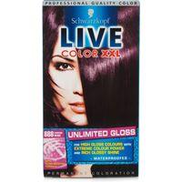 Schwarzkopf Live Colour XXL Unlimited Gloss 888 Damson Wine