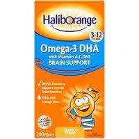 Seven Seas Haliborange Kids Omega-3 Orange Syrup