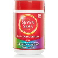 Seven Seas One A Day Pure Cod Liver Oil Plus Multivitamins