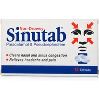 Sinutab Non Drowsy Tablets