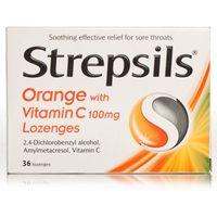 Strepsils Orange With Vitamin C100mg
