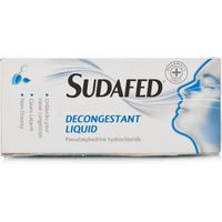 Sudafed Decongestant Elixir Non Drowsy