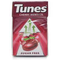 Tunes Sugar Free Cherry Flavour Menthol Sweets