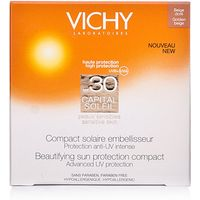 Vichy Capital Soleil Beautifying Compact SPF30 Golden Beige