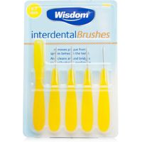 Wisdom Interdental Brushes Yellow