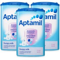 Aptamil Hungry Milk from Birth Formula Powder Triple Pack