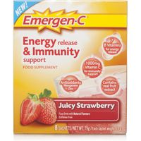 Emergen C Energy Release & Immunity Support Strawberry