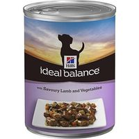 Hills Ideal Balance Canine Adult with Savoury Lamb & Vegetables