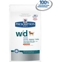 Hills Prescription Diet Canine W/D Mini