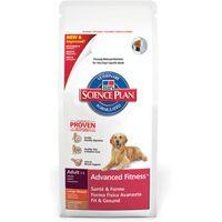 Hills Science Plan Canine Adult Advanced Fitness Medium Lamb
