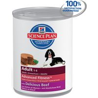 Hills Science Plan Canine Adult Advanced Fitness Medium with Beef