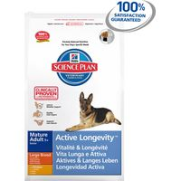 Hills Science Plan Canine Mature Adult 5+ Active Longevity Large Chicken