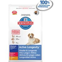 Hills Science Plan Canine Mature Adult 7+ Active Longevity Medium with Chicken