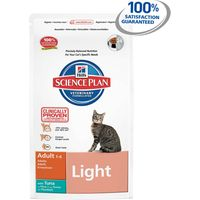 Hills Science Plan Feline Adult Light with Tuna