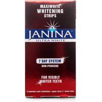 Janina Maxiwhite Ultra White Strips 7 Day System