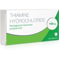 Thiamine Hydrochloride 100mg Tablets 100