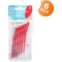 Tepe Angled Interdental Brush Red 6 Pack